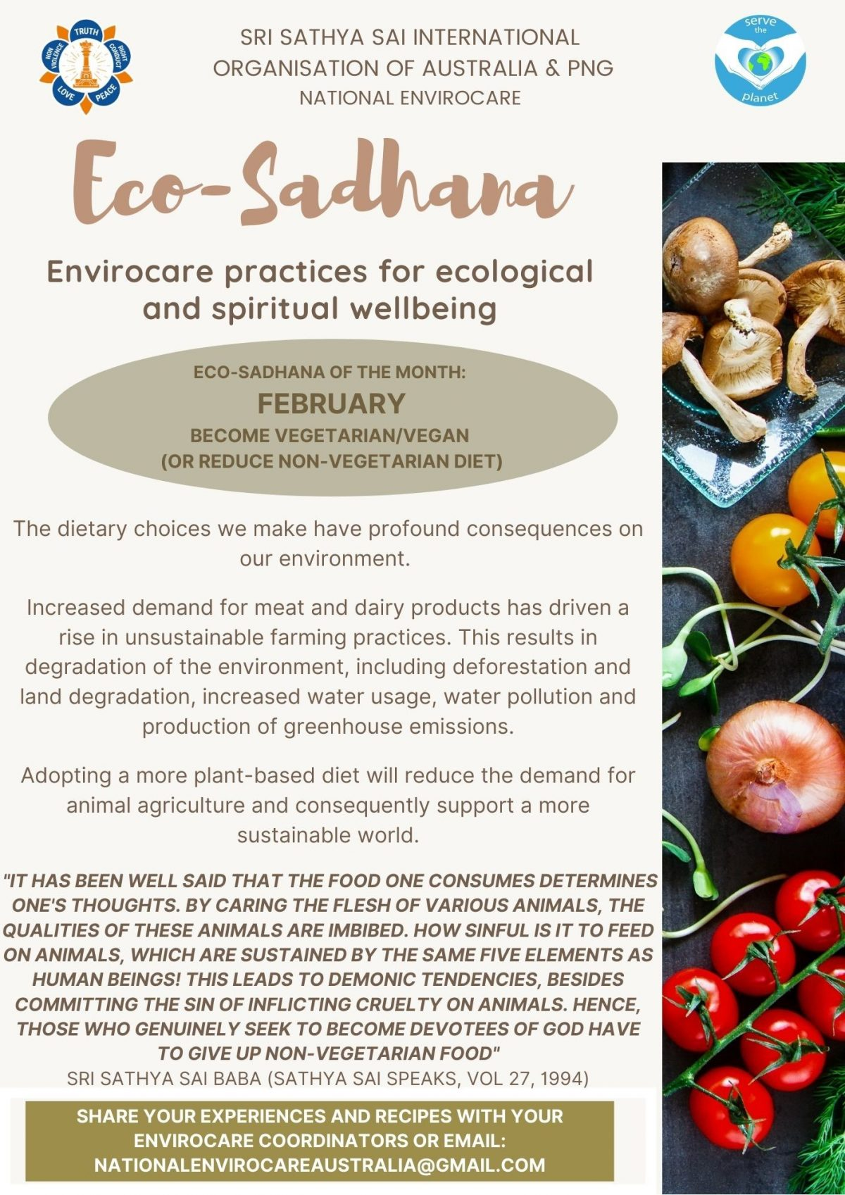 Eco Sadhana Program