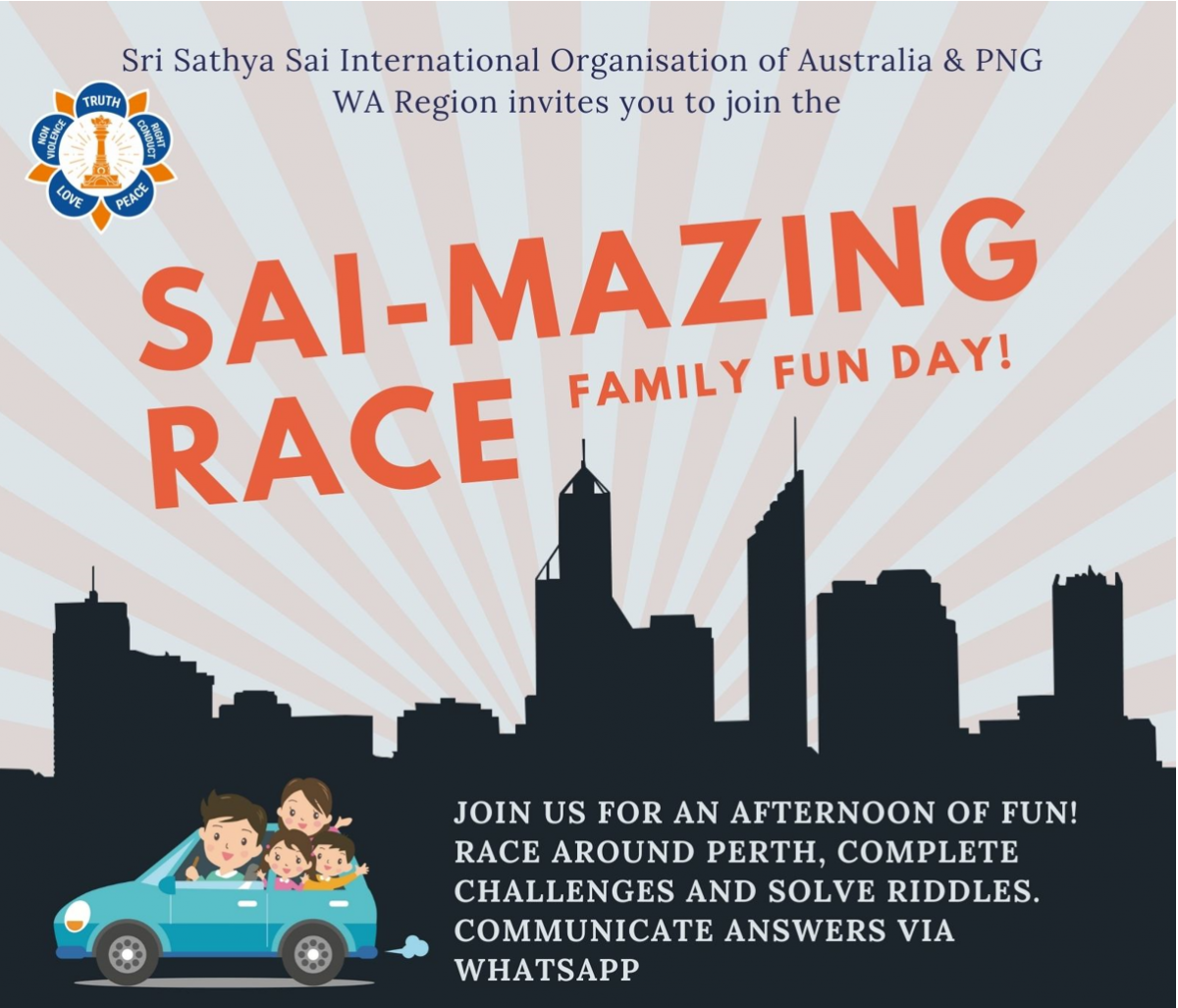 Sai-Mazing Race in Perth!