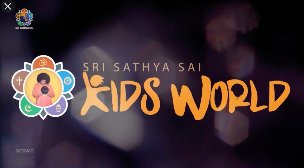 Launch of Sri Sathya Sai Kids World YouTube Channel – Creating Happy Children and Happy Homes